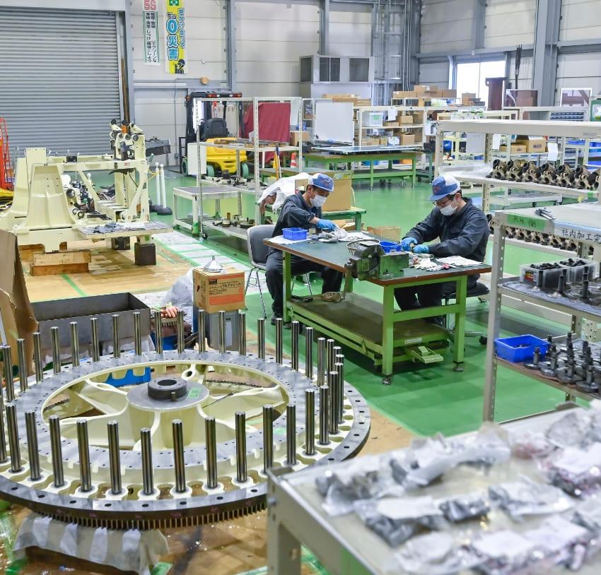 機械製作事業